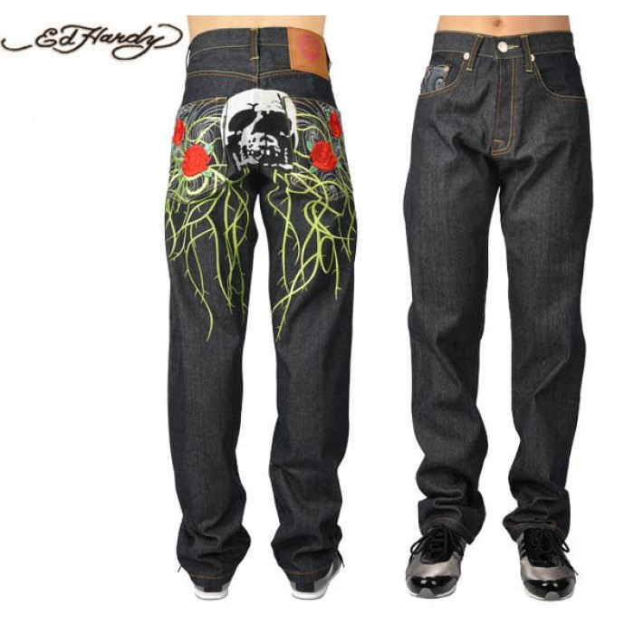 Ed Hardy Mens Jeans 0537 various styles