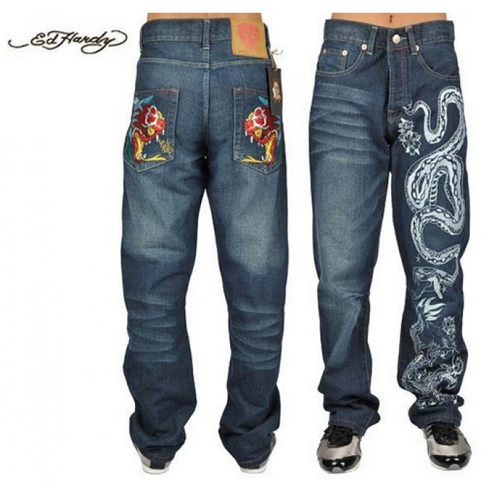 Ed Hardy Mens Jeans 0215 websitelatest fashion