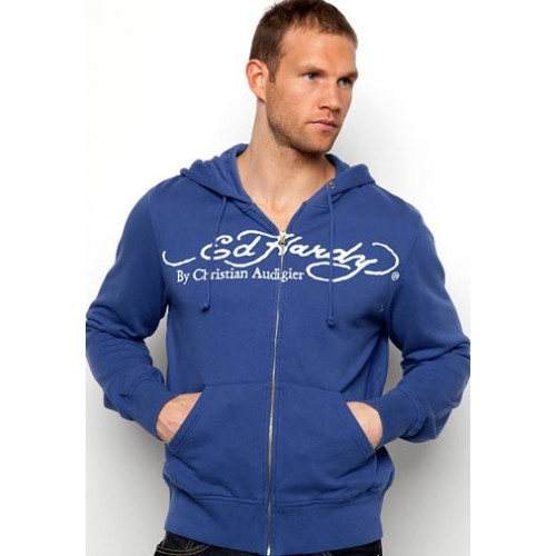 Ed Hardy Beautiful Death Panthers Basic Hoody