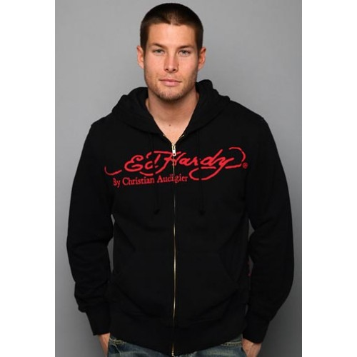 Ed Hardy Death Of Love And Tiger Basic Hoody