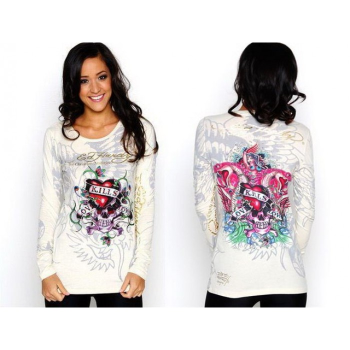 Ed Hardy Womens Long Sleeve exclusive range discount