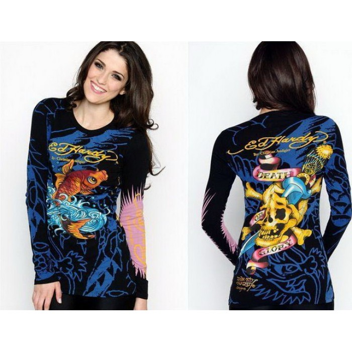 Ed Hardy Womens Long Sleeve official Discount