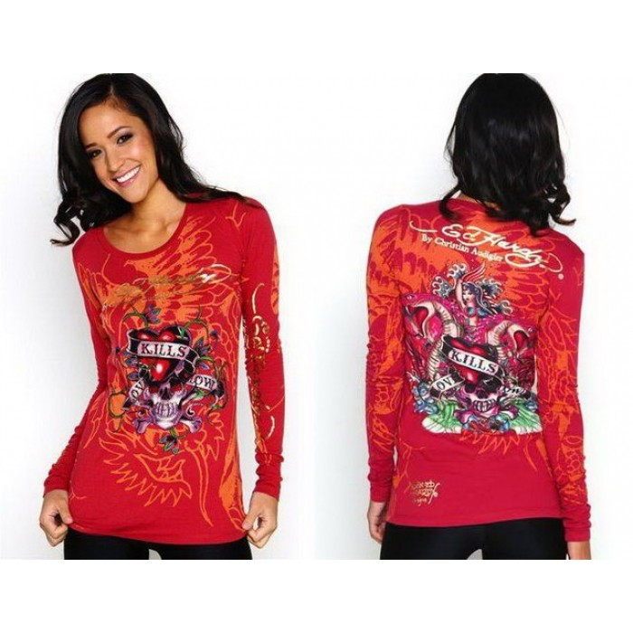 Ed Hardy Womens Long Sleeve Superior Quality