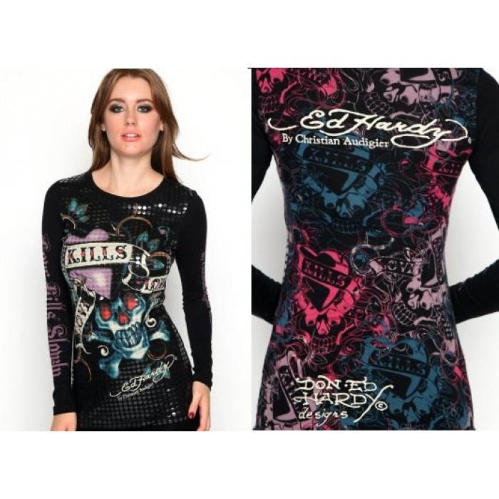 Ed Hardy Womens Long Sleeve ed hardy cheap