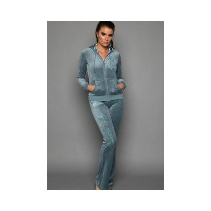 Christian Audigier Womens Long Suit lake blue