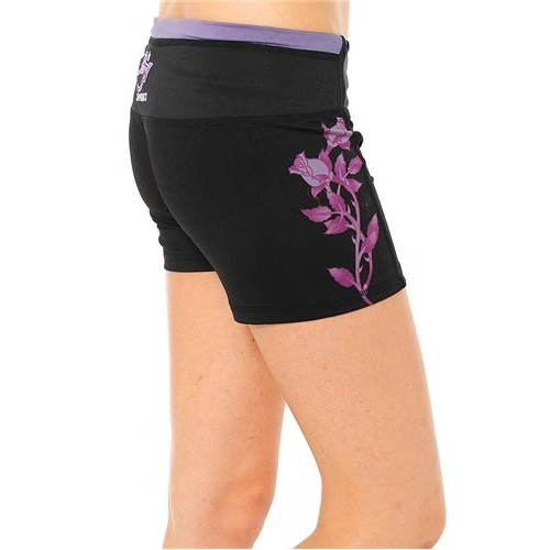 Ed Hardy Womens Butterfly Training Shorts
