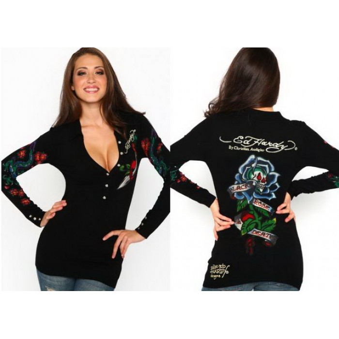 Ed Hardy Womens Long Sleeve attractive price