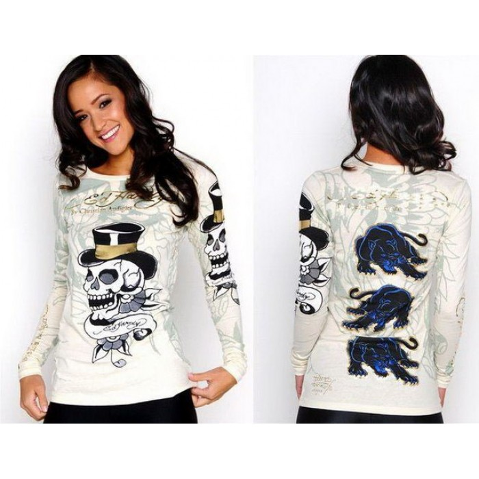 Ed Hardy Womens Long Sleeve complete in specifications