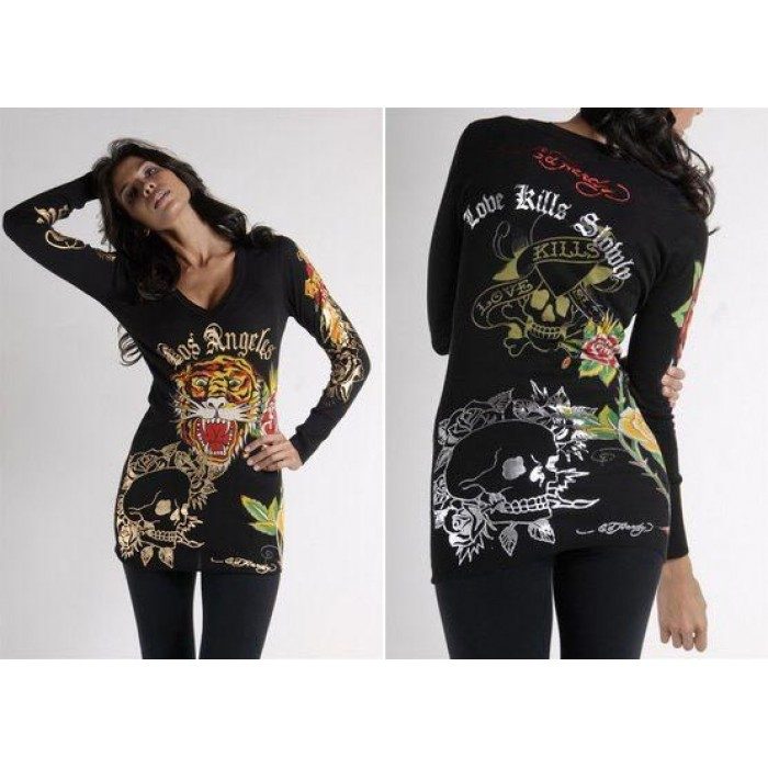 Ed Hardy Womens Long Sleeve Online Store